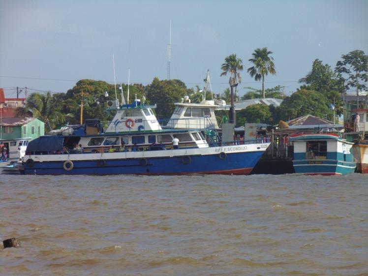 barco corn island