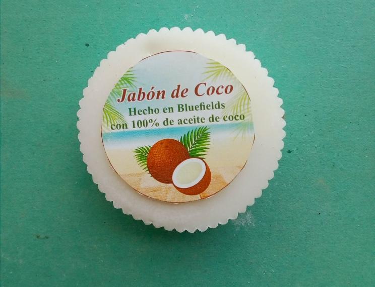 jabon de aceite de coco